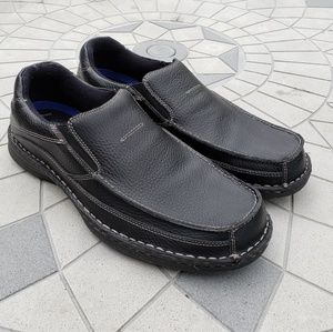 Dr. Scholl's Ryan Black Slip-on Leather Loafers 13